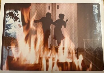 Shadows Dancing in the Fire